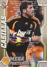 N°401 CASILLAS # MEGA PORTEROS REAL MADRID CARD PANINI MEGA CRACKS LIGA 2011