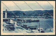 Trieste Faro cartolina C2594 SZG