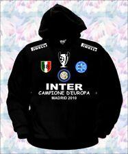 FELPA INTER CHAMPIONS LEAGUE MAGLIA T-SHIRT CALCIO polo t-shirt madrid triplete