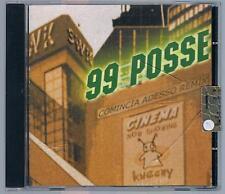 99 POSSE COMINCIA ADESSO REMIX  CD PROMO TUTTO NUOVO!!!