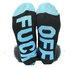 "Unisex Men's Women's ""F**K-OFF"" 6 pairs Socks Soft Cotton Knit Warm Sports Socks"