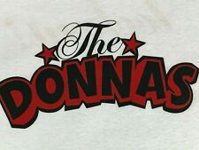 S/M * Nos vtg 90s 1999 The Donnas get skintight Lookout Records punk t shirt