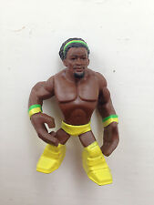 RARE WWE KOFI KINGSTON RUMBLER MATTEL WRESTLING FIGURE