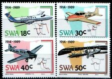 SWA SOUTH WEST AFRICA 1989 - Aviation Industry/Airplanes SG 507-510 MNH AIRCRAFT