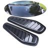 Carbon Fiber Auto Car Air Flow Intake Scoop Turbo Bonnet Vent Cover Hood Fender