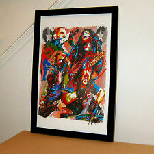 Pantera Dimebag Darrell Vinnie Paul Metal Rock Music Poster Print Wall Art 11x17