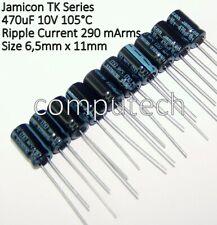 Condensatore elettrolitico 470uF 63V 18X35mm 85° Passo 7,5mm Elna