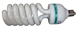 4 x Photography Daylight Spiral Bulb 135W 5500K E27 - Studio Photo Lighting