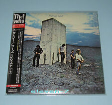 THE WHO Who's Next Japan mini lp CD +7 remastered