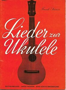 Lieder zur Ukulele Notenheft Band 1 mit 21 Songs