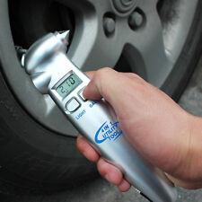 4in1 LCD Digital Tire Tyre Air Pressure Gauge Tester Tool Fr Auto Car Motorcycle