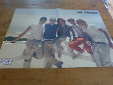 ONE DIRECTION - Poster !!! 2P !!! Au verso : ANUBIS !!!