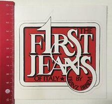 Aufkleber/Sticker: The F1rst Jeans Of Italy - By Franz Braem (11031615)
