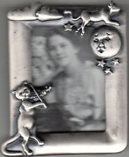"""Baby Picture Frame By Linco, """"Cow Jumped Over the Moon....While Cat...."""", New"""