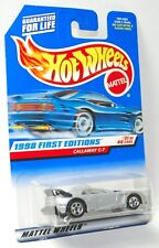 Hot Wheels 1998 FIRST EDITIONS 31/40 CALLAWAY C-7 #677 1/64 FACTORY SEALED