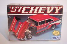 Vintage-1957 Chevy Custom-Plastic-Model-kit- Nos-never-opened-still-sea led