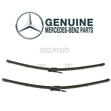 Genuine Front Window Wiper Blade Set For Mercedes W205 C300 C400 2015 2058202300