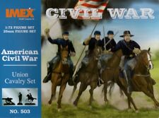 IMEX 1:72/25mm Figure Set - Civil War - Union Calvary Set