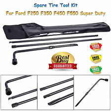 Spare Tire Tool For Ford F250 F350 F450 F550 Super Duty Lug Iron Kit Replacement