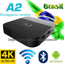 2018 Newest A2 Tv Box Well as Htv5 Portuguese Brazilain Live Tv Iptv Streamer