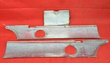 1960 Ford Galaxie Starliner Sunliner Gas Door Rear Trunk Trim Aluminum Molding