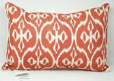 "Tommy Bahama Home Raw Coast 16"" x 20"" Geometric Decorative Pillow - Orange"