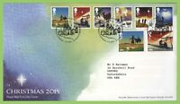 G.B. 2015 Christmas set on Royal Mail First Day Cover, Bethlehem