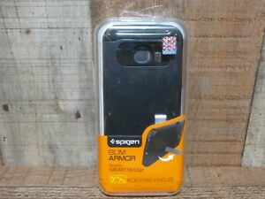Spigen Tough Armor Galaxy S6 Edge Case with Kickstand - Black