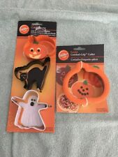 New listing Wilton Halloween Cookie Cutters