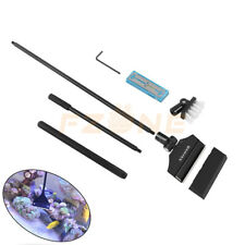 New listing Aquarium Tank Scraper Aluminum Magnesium Alloy Algae Cleaner Brush W/10 Blades