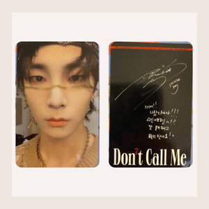 SHINee Key Official Photocard Don't Call Me Reality Version