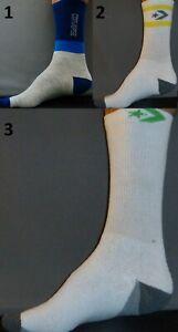 CONVERSE Men's Socks Sz 10-13 Shoe 6-12.5 Crew Casual Dress ALL STAR Gym Large L