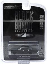 Greenlight Black Bandit Series 12 1967 Ford Custom Police Car Free USA Ship