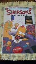 Simpsons Comics Bongo Stories and Comics Both First Issues Collector's Editions
