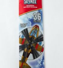 SkyMax Dlx Nylon Kite Attack Copter 36 Inch Handle & Line Toy Helicopter Outdoor
