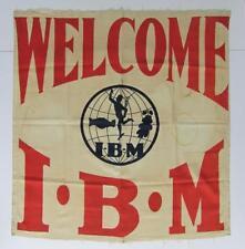 c 1920 Vintage Ibm International Brotherhood Magician Union Welcome Banner Magic