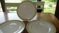 """Franciscan Pottery Gabrielle Dinner Plates 6 10"""" 1969 Round Dinner Plates EUC"""