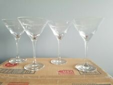 4 Pack New Tommy Bahama Martini Glasses
