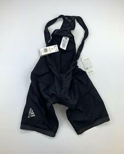 Adidas Women's Super Nova Cycling Bib Shorts Black Size Large New