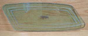74-76 Mercury Cougar Opera Window Glass Salvage Small Rear Quarter Back Reclaim