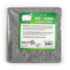 "100% New Zealand Wool Ironing Mat SIZE : 9"" x 9"" x 1/2"" 0909WOOLMAT"