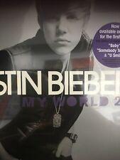 Justin Bieber My World Vinyl Album New And Sealed