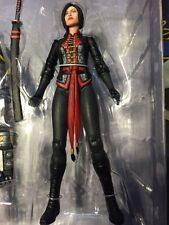 "DC Direct Batman:LADY SHIVA Arkham Origins  action figure 7"" loose"
