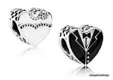 NWT AUTHENTIC PANDORA CHARM OUR SPECIAL DAY WEDDING CHARM #791840ENMX RETIRED