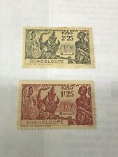 Guadeloupe 1939 Worlds Fair  Unused    Lot 3576