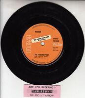 "NILSSON  Are You Sleeping? 7"" 45 rpm vinyl record + juke box title strip RARE!"