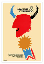 "Cuban movie Poster""The great CUCKOLD""Expressionism art.El gran Cornudo."