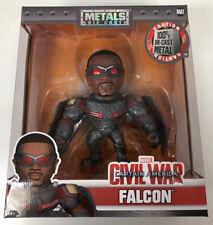 "Metals Die Cast Marvel Captain America Civil War Falcon 6"" Figure BNIB #NG"