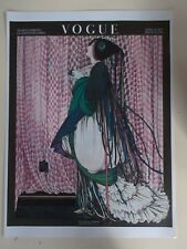 Vogue Conde Nast April 15, 1915 Art Deco Fashion Magazine Poster