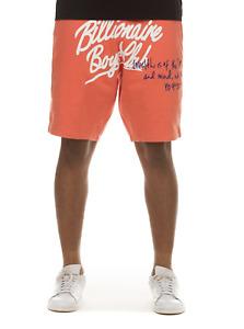 Billionaire Boys Club BB Celestial Short 811-4100 Living Coral 2021 Brand New